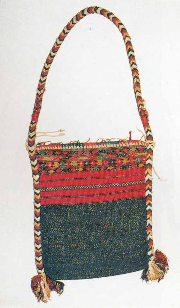 Jpeg 59K This Jingpho bag is shown in Michael C Howard's book 'Textiles of the Hilltribes of Burma' (1999: page 163 Plate 120.) The bag itself is in the Bankfield Museum, Halifax (UK) collection and was originally lent to the Museum in 1900 by E.C.S.George and subsequently given to them by him in 1937.