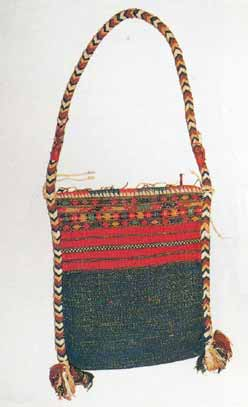 to Jpeg 59K This Jingpho bag is shown in Michael C Howard's book 'Textiles of the Hilltribes of Burma' (1999: page 163 Plate 120.) The bag itself is in the Bankfield Museum, Halifax (UK) collection and was originally lent to the Museum in 1900 by E.C.S.George and subsequently given to them by him in 1937.