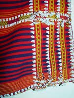 to 70K Jpg 15 - Detail 2 of Gadang women's cotton and beaded skirt, Paracelis Mountain Province, Northern Luzon, 20th century. 99 cm x 53.5 cm