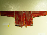 to 66K Jpg 17 - Gadang woman's cotton jacket, Paracelis Mountain Province, Northern Luzon, early 20th century. 108 cm (incl. sleeves) x 31 cm