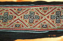 to Jpeg 59K Black Hmong woman's embroidered sash purchased from a Black Hmong woman in Sa Pa, Lao Cai Province 9511A27.JPG