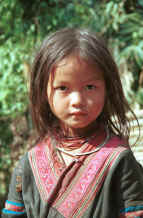 to Jpeg 64K Green Hmong girl in a village in Lai Chau province, northern Vietnam 9510f35.jpg